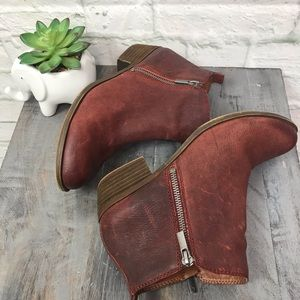 Lucky Brand Basel Leather Bootie Size 9